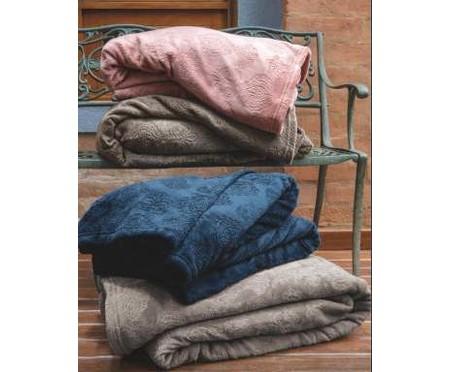 Cobertor Blanket Jacquard 300 fios - Rosa | WestwingNow