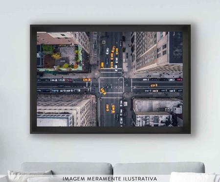 Quadro com Vidro New York street | WestwingNow