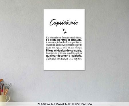 Placa signos Capricórnio | WestwingNow