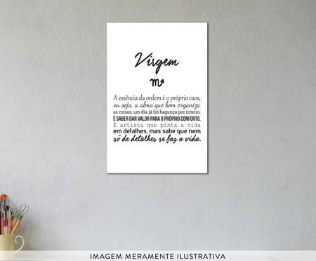 Placa signos Virgem | WestwingNow