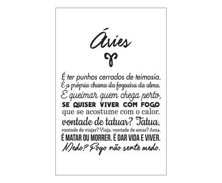Placa signos Aries | WestwingNow