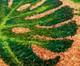 Tapete Capacho em Fibra de Coco Blamm Letty, Palha e Preto | WestwingNow