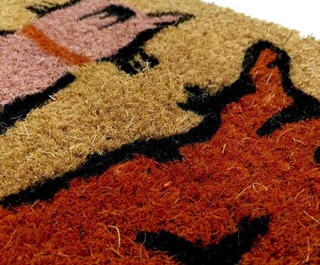 Tapete Capacho Fibra de Coco Gatinhos - Colorido | WestwingNow