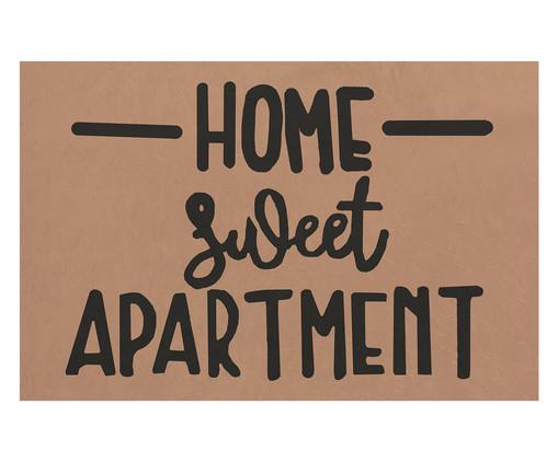 Capacho Home Sweet Apartment, Preto e Natural | WestwingNow