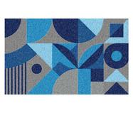 Tapete Capacho Geométrico Ardengo - Azul   WestwingNow