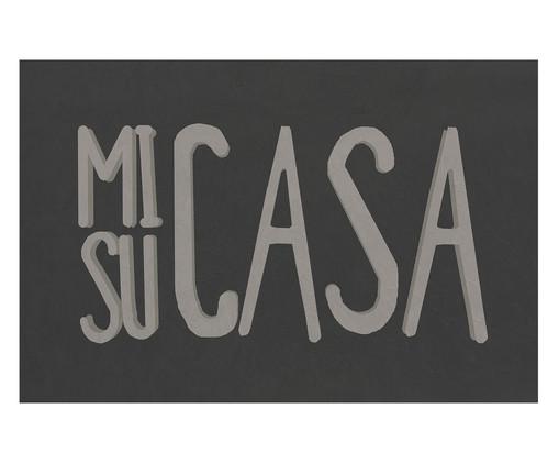 Capacho Mi Casa Su Casa, Cinza | WestwingNow