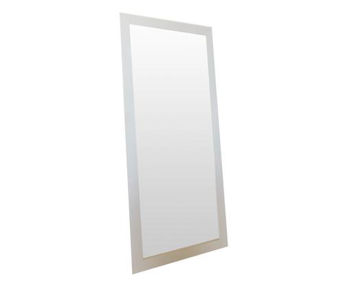 Espelho de Chão de Madeira Misty - Branco, Branco | WestwingNow