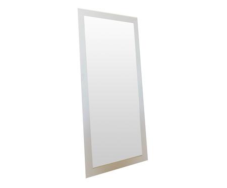 Espelho de Chão de Madeira Misty - Branco | WestwingNow