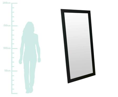 Espelho de Chão de Madeira Vicky - Preto | WestwingNow