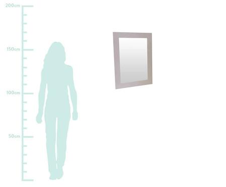 Espelho de Parede com Moldura de Madeira Jenny - Branco | WestwingNow