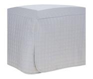 Saia para Cama Box Cetim 270 Fios Bud Vision New Colors - Cinza | WestwingNow