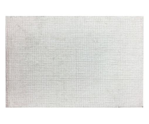 Tapete de Banheiro Colorado - Branco, Branco | WestwingNow