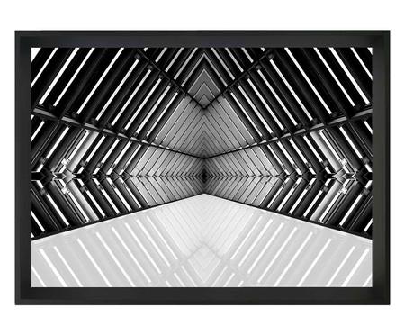 Quadro com Vidro Arquitetura Vieira - 60x40 | WestwingNow
