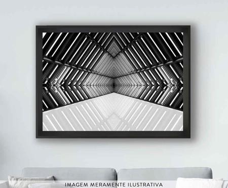 Quadro com Vidro Arquitetura Vieira - Preto | WestwingNow