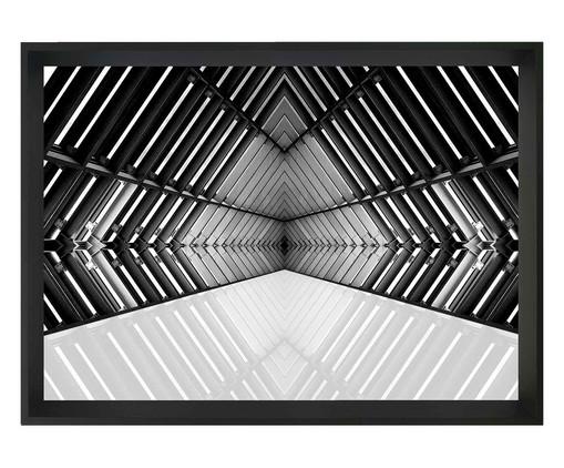 Quadro com Vidro Arquitetura Vieira - 60x40, Preto | WestwingNow