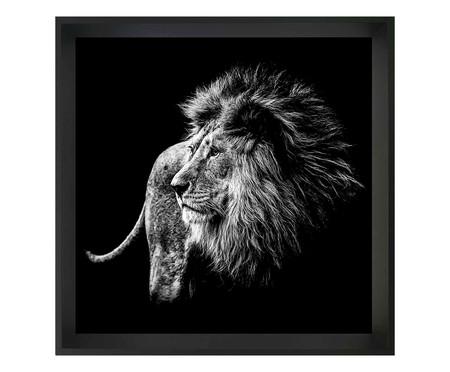 Quadro com Vidro Leão | WestwingNow