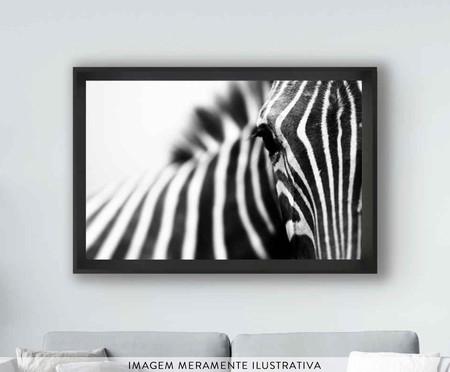 Quadro com Vidro Zebra   WestwingNow
