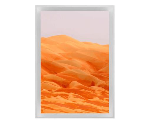 Quadro com Vidro Deserto, Branco | WestwingNow