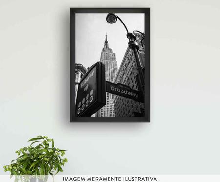 Quadro com Vidro Empire State NY | WestwingNow