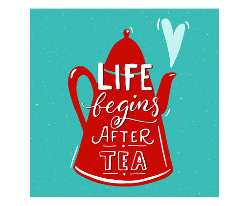Placa life begins after tea, Madeira Natural | WestwingNow