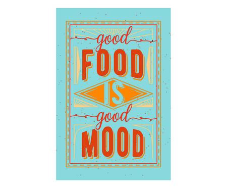 Placa good food is good mood | WestwingNow