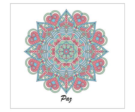 Placa Mandala Paz   WestwingNow