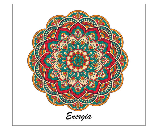 Placa Mandala Energia, Madeira Natural | WestwingNow