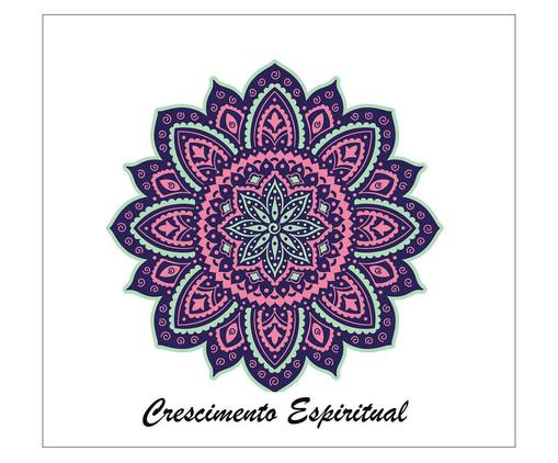 Placa Mandala Espiritual, Madeira Natural | WestwingNow