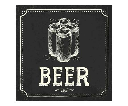 Placa beer e latas | WestwingNow