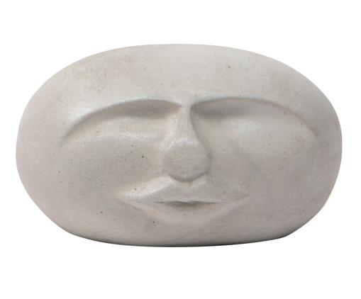 Escultura Cimento Face Brian - Cinza, Cimento | WestwingNow