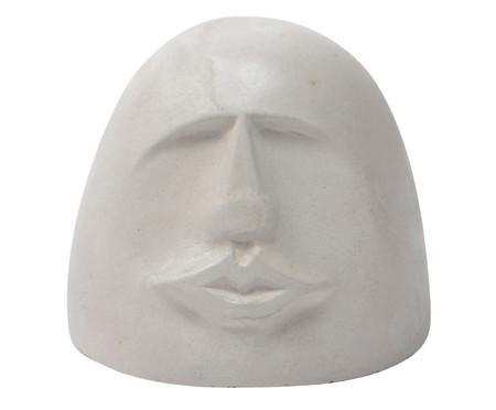 Escultura Cimento Face Caty - Cinza | WestwingNow