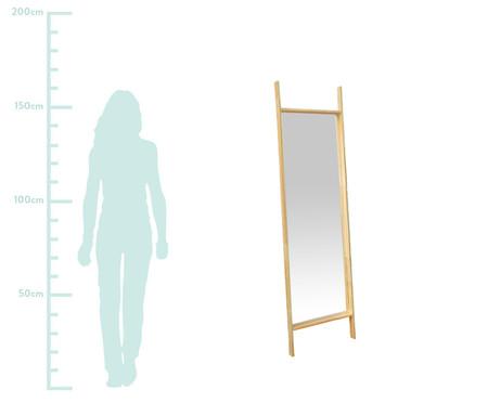 Espelho Madeira Cofre Ret - Bege | WestwingNow