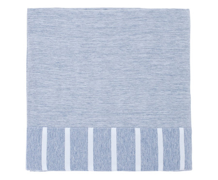 Lençol Superior Chambre - Azul Jeans | WestwingNow