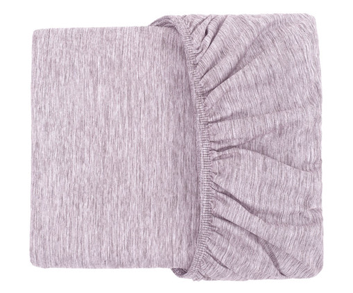Lençol Inferior com Elástico Chambre - Roxo, Roxo | WestwingNow