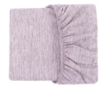 Lençol Inferior Chambre - Roxo | WestwingNow