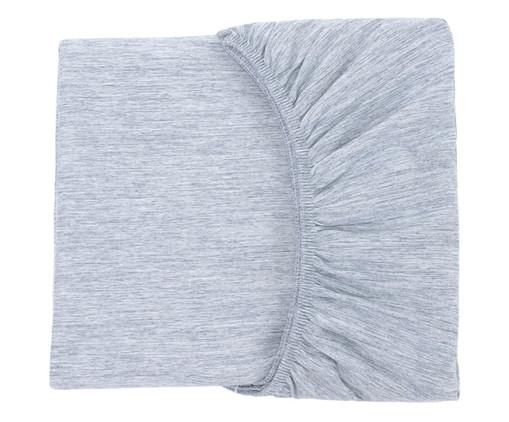 Lençol Inferior com Elástico Chambre - Azul Jeans, Azul Jeans | WestwingNow