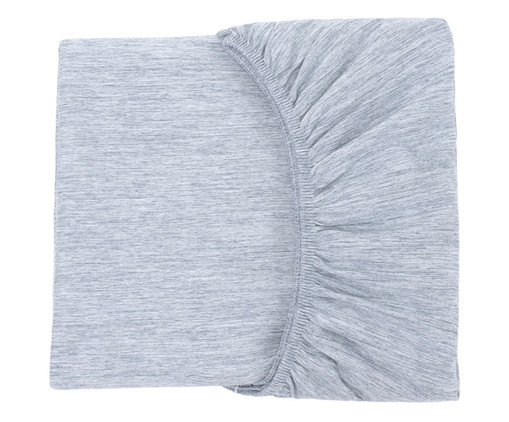 Lençol Inferior Chambre - Azul Jeans, Azul Jeans | WestwingNow