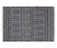 Tapete Indiano Kilim Anand - Preto | WestwingNow