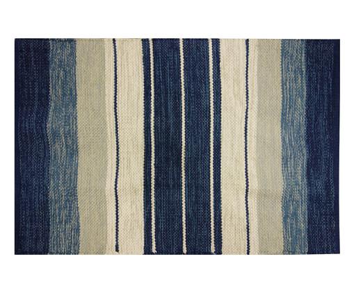 Tapete Indiano Kilim Basar - Azul, Azul | WestwingNow
