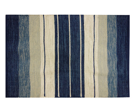 Tapete Indiano Kilim Basar - Azul | WestwingNow