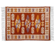 Tapete Indiano Kilim Antep Itubore - Marrom | WestwingNow