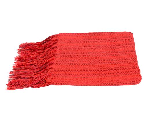 Manta Orvale - Vermelha, Vermelha | WestwingNow