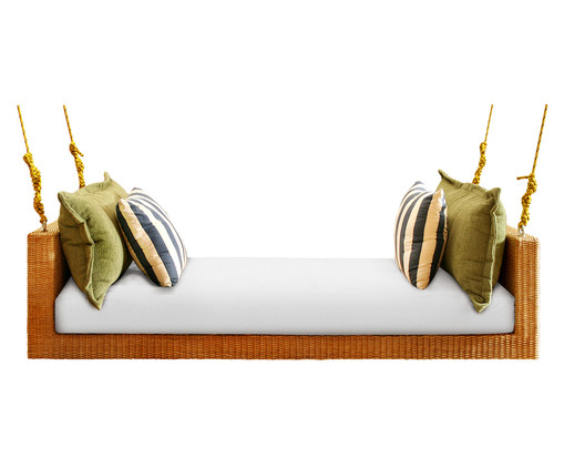 Sofá de Balanço de Fibra Sintética Marquesa Trancoso - Colorido, Colorido | WestwingNow