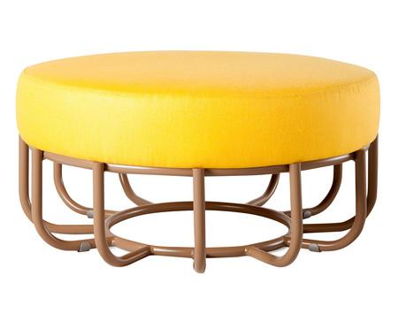 Pufe Cesta  - Amarelo | WestwingNow