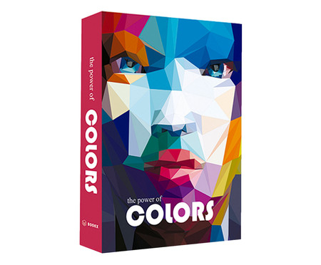 Livro Caixa Decorativo The Power Of Colors - Colorido | WestwingNow