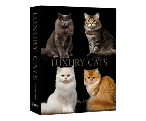 Book Box Luxury Cats, Colorido | WestwingNow