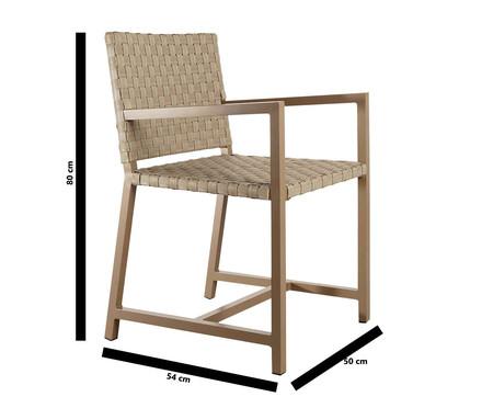 Cadeira com Braços Macul - Bege   WestwingNow