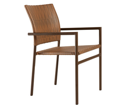 Cadeira de Fibra Sintética Molokai - Natural | WestwingNow
