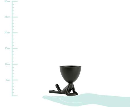Vaso Decorativo Pessoa Deitada - Preto | WestwingNow