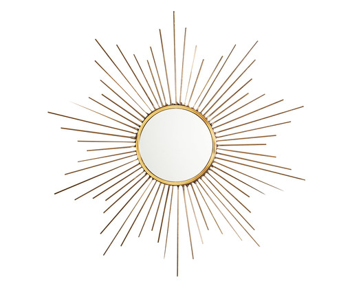 Espelho Redondo Oscuns - Dourado, Dourado | WestwingNow
